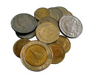 Thai money coins